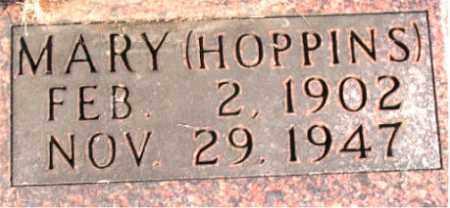 HOPPINS FANCHER, MARY - Carroll County, Arkansas | MARY HOPPINS FANCHER - Arkansas Gravestone Photos