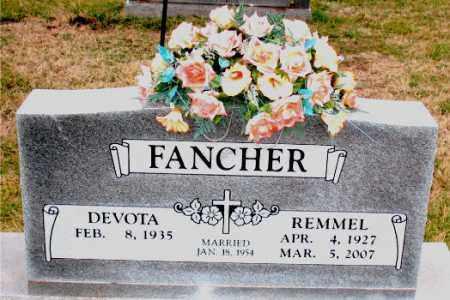 FANCHER, REMMEL - Carroll County, Arkansas | REMMEL FANCHER - Arkansas Gravestone Photos