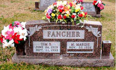 FANCHER, TIM B. - Carroll County, Arkansas   TIM B. FANCHER - Arkansas Gravestone Photos