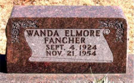 FANCHER, WANDA - Carroll County, Arkansas | WANDA FANCHER - Arkansas Gravestone Photos