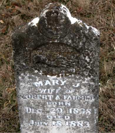 FARMER, MARY J - Carroll County, Arkansas | MARY J FARMER - Arkansas Gravestone Photos