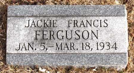 FERGUSON, JACKIE  FRANCIS - Carroll County, Arkansas | JACKIE  FRANCIS FERGUSON - Arkansas Gravestone Photos