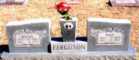 FERGUSON, PAUL - Carroll County, Arkansas   PAUL FERGUSON - Arkansas Gravestone Photos