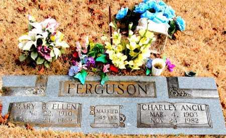 FERGUSON, MARY  B. ELLEN - Carroll County, Arkansas | MARY  B. ELLEN FERGUSON - Arkansas Gravestone Photos
