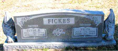FICKES, VELTA - Carroll County, Arkansas | VELTA FICKES - Arkansas Gravestone Photos