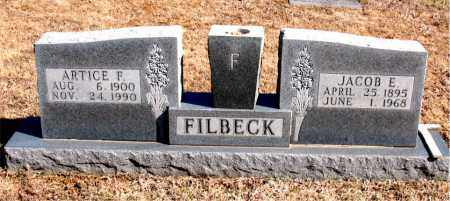 FILBECK, ARTICE  F. - Carroll County, Arkansas | ARTICE  F. FILBECK - Arkansas Gravestone Photos