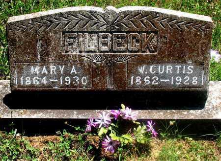 FILBECK, WILLIAM  CURTIS - Carroll County, Arkansas | WILLIAM  CURTIS FILBECK - Arkansas Gravestone Photos