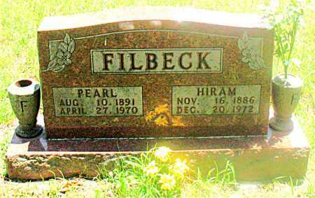 FILBECK, HIRAM - Carroll County, Arkansas | HIRAM FILBECK - Arkansas Gravestone Photos