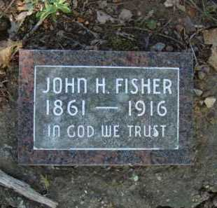 FISHER, JOHN H. - Carroll County, Arkansas   JOHN H. FISHER - Arkansas Gravestone Photos