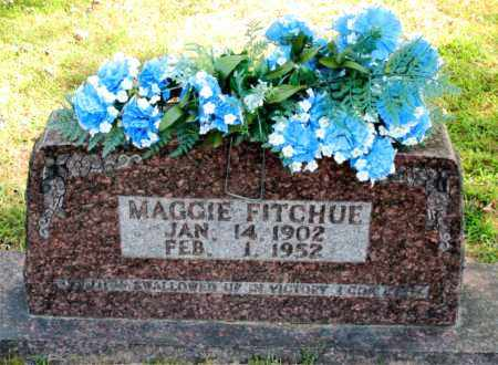 FITCHUE, MAGGIE - Carroll County, Arkansas | MAGGIE FITCHUE - Arkansas Gravestone Photos