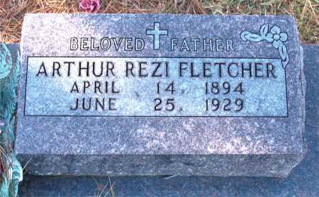 FLETCHER, ARTHUR REZI - Carroll County, Arkansas | ARTHUR REZI FLETCHER - Arkansas Gravestone Photos