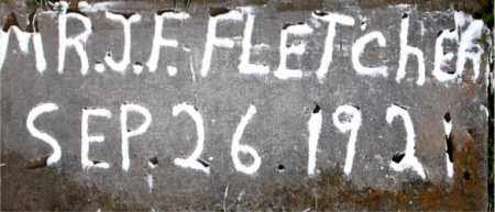 FLETCHER, MR J F - Carroll County, Arkansas   MR J F FLETCHER - Arkansas Gravestone Photos