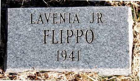 FLIPPO,JR., LAVENIA - Carroll County, Arkansas | LAVENIA FLIPPO,JR. - Arkansas Gravestone Photos