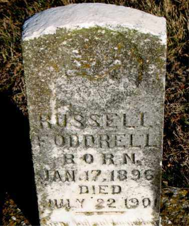 FODDRELL, RUSSELL - Carroll County, Arkansas | RUSSELL FODDRELL - Arkansas Gravestone Photos