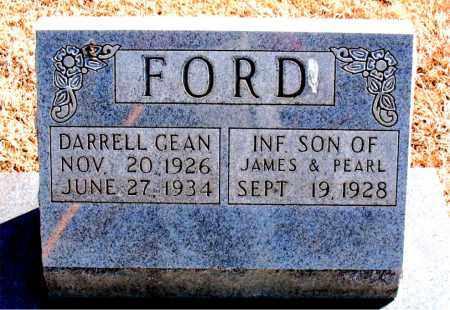 FORD, DARRELL GEAN - Carroll County, Arkansas   DARRELL GEAN FORD - Arkansas Gravestone Photos