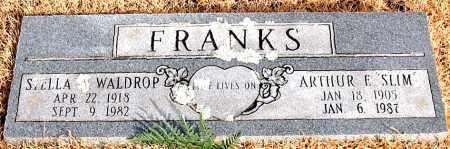 WALDROP FRANKS, STELLA - Carroll County, Arkansas | STELLA WALDROP FRANKS - Arkansas Gravestone Photos