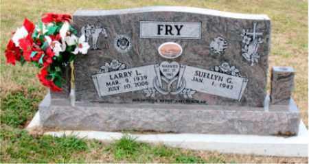 FRY, LARRY L. - Carroll County, Arkansas | LARRY L. FRY - Arkansas Gravestone Photos