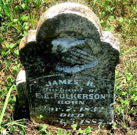 FULKERSON, JAMES RIDGEWAY - Carroll County, Arkansas | JAMES RIDGEWAY FULKERSON - Arkansas Gravestone Photos