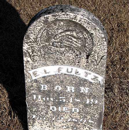 FULTZ, E. L. - Carroll County, Arkansas | E. L. FULTZ - Arkansas Gravestone Photos