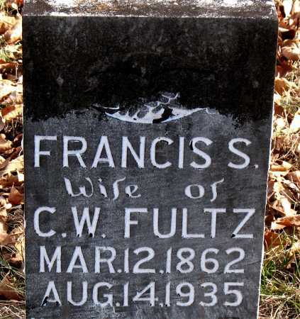 FULTZ, FRANCIS  S. - Carroll County, Arkansas | FRANCIS  S. FULTZ - Arkansas Gravestone Photos