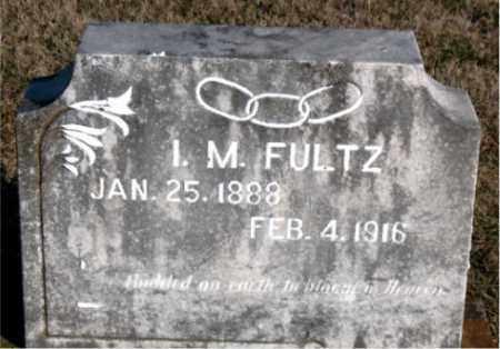 FULTZ, I.  M. - Carroll County, Arkansas | I.  M. FULTZ - Arkansas Gravestone Photos