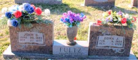 FULTZ, JOHN  D. - Carroll County, Arkansas | JOHN  D. FULTZ - Arkansas Gravestone Photos
