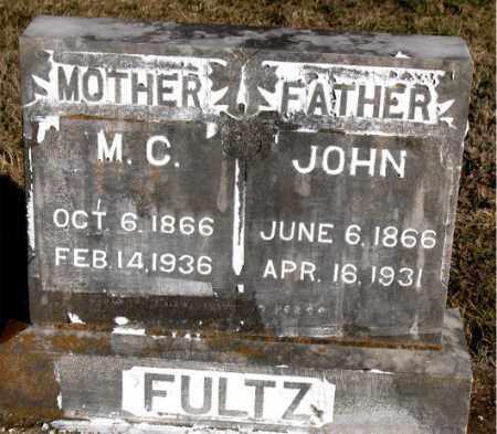 FULTZ, JOHN - Carroll County, Arkansas | JOHN FULTZ - Arkansas Gravestone Photos