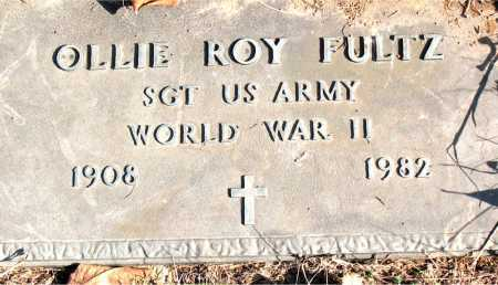 FULTZ  (VETERAN WWII), OLLIE ROY - Carroll County, Arkansas | OLLIE ROY FULTZ  (VETERAN WWII) - Arkansas Gravestone Photos