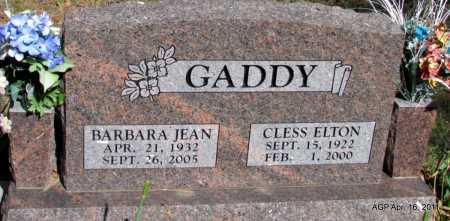 GADDY, CLESS  ELTON - Carroll County, Arkansas | CLESS  ELTON GADDY - Arkansas Gravestone Photos