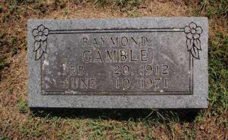 GAMBLE, RAYMOND - Carroll County, Arkansas | RAYMOND GAMBLE - Arkansas Gravestone Photos