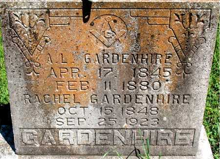 GARDENHIRE, A. L. - Carroll County, Arkansas | A. L. GARDENHIRE - Arkansas Gravestone Photos