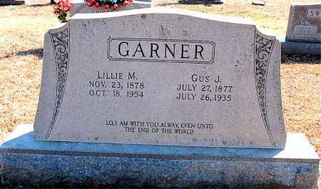 GARNER, GUS J. - Carroll County, Arkansas   GUS J. GARNER - Arkansas Gravestone Photos