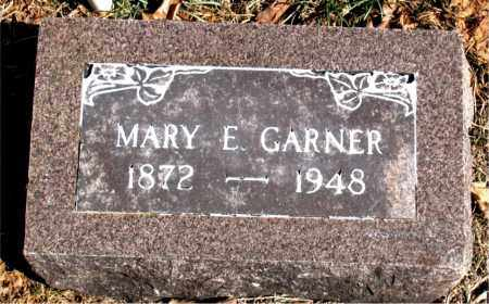 GARNER, MARY E. - Carroll County, Arkansas | MARY E. GARNER - Arkansas Gravestone Photos