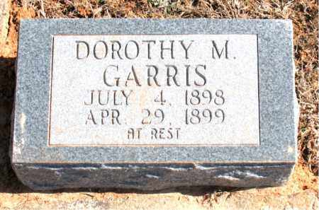 GARRIS, DOROTHY M. - Carroll County, Arkansas | DOROTHY M. GARRIS - Arkansas Gravestone Photos