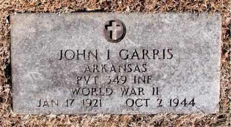 GARRIS (VETERAN WWII), JOHN I - Carroll County, Arkansas | JOHN I GARRIS (VETERAN WWII) - Arkansas Gravestone Photos