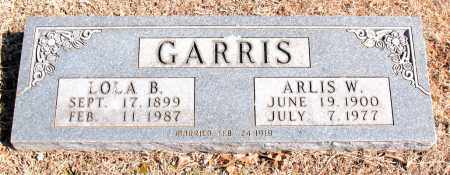 GARRIS, LOLA  B. - Carroll County, Arkansas | LOLA  B. GARRIS - Arkansas Gravestone Photos