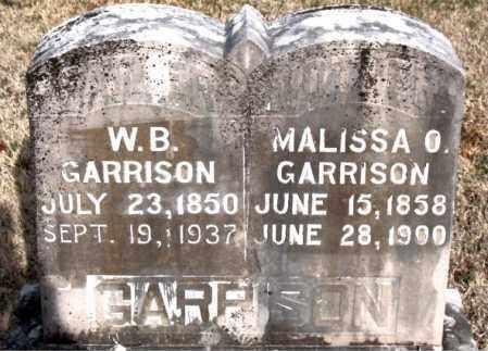 GARRISON, MALISSA O - Carroll County, Arkansas   MALISSA O GARRISON - Arkansas Gravestone Photos