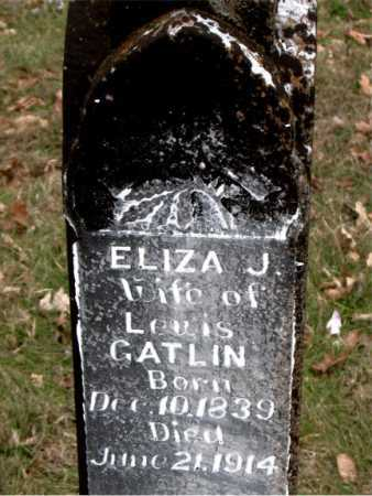 GATLIN, ELIZA J. - Carroll County, Arkansas   ELIZA J. GATLIN - Arkansas Gravestone Photos