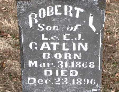 GATLIN, ROBERT L. - Carroll County, Arkansas | ROBERT L. GATLIN - Arkansas Gravestone Photos