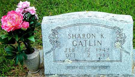 GATLIN, SHARON K - Carroll County, Arkansas | SHARON K GATLIN - Arkansas Gravestone Photos