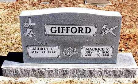 GIFFORD, MAURICE  V. - Carroll County, Arkansas | MAURICE  V. GIFFORD - Arkansas Gravestone Photos