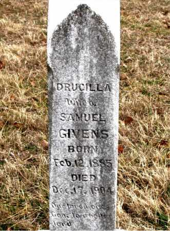 GIVENS, DRUCILLA - Carroll County, Arkansas   DRUCILLA GIVENS - Arkansas Gravestone Photos