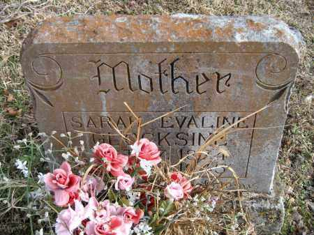 GLOCKSIEN, SARAH EVALINE - Carroll County, Arkansas | SARAH EVALINE GLOCKSIEN - Arkansas Gravestone Photos