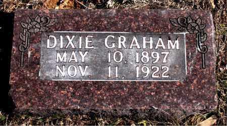 GRAHAM, DIXIE - Carroll County, Arkansas   DIXIE GRAHAM - Arkansas Gravestone Photos