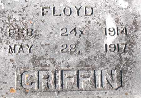 GRIFFIN, FLOYD - Carroll County, Arkansas   FLOYD GRIFFIN - Arkansas Gravestone Photos