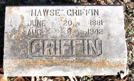 GRIFFIN, HAWSE - Carroll County, Arkansas   HAWSE GRIFFIN - Arkansas Gravestone Photos