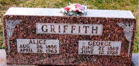 GRIFFITH, GEORGE - Carroll County, Arkansas | GEORGE GRIFFITH - Arkansas Gravestone Photos