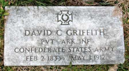 GRIFFITH (VETERAN CSA), DAVID C. - Carroll County, Arkansas | DAVID C. GRIFFITH (VETERAN CSA) - Arkansas Gravestone Photos