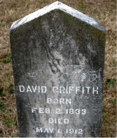 GRIFFITH, DAVID - Carroll County, Arkansas | DAVID GRIFFITH - Arkansas Gravestone Photos