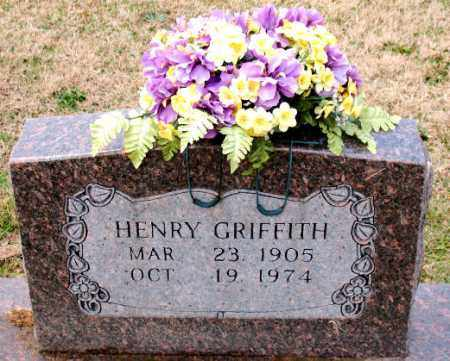 GRIFFITH, HENRY - Carroll County, Arkansas | HENRY GRIFFITH - Arkansas Gravestone Photos